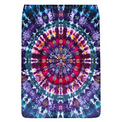 Red Purple Tie Dye Kaleidoscope Opaque Color Flap Covers (L)