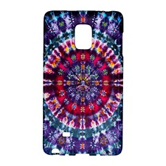 Red Purple Tie Dye Kaleidoscope Opaque Color Galaxy Note Edge