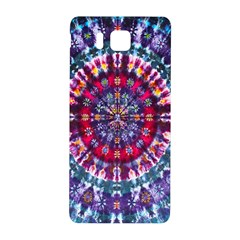 Red Purple Tie Dye Kaleidoscope Opaque Color Samsung Galaxy Alpha Hardshell Back Case