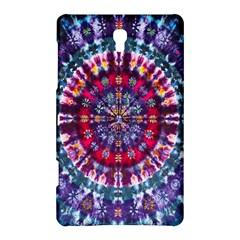 Red Purple Tie Dye Kaleidoscope Opaque Color Samsung Galaxy Tab S (8 4 ) Hardshell Case