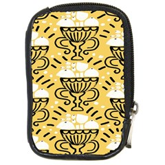 Trophy Beers Glass Drink Compact Camera Cases
