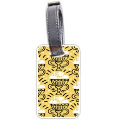 Trophy Beers Glass Drink Luggage Tags (One Side)