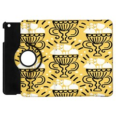 Trophy Beers Glass Drink Apple iPad Mini Flip 360 Case