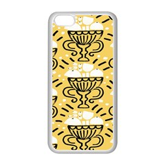 Trophy Beers Glass Drink Apple iPhone 5C Seamless Case (White)