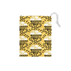 Trophy Beers Glass Drink Drawstring Pouches (Small)