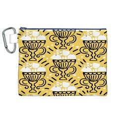 Trophy Beers Glass Drink Canvas Cosmetic Bag (XL)