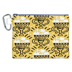 Trophy Beers Glass Drink Canvas Cosmetic Bag (XXL)