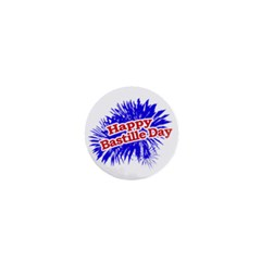 Happy Bastille Day Graphic Logo 1  Mini Buttons
