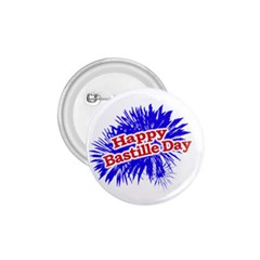 Happy Bastille Day Graphic Logo 1.75  Buttons