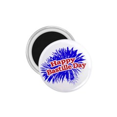 Happy Bastille Day Graphic Logo 1.75  Magnets