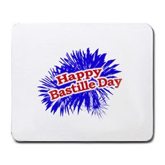 Happy Bastille Day Graphic Logo Large Mousepads