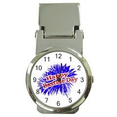 Happy Bastille Day Graphic Logo Money Clip Watches