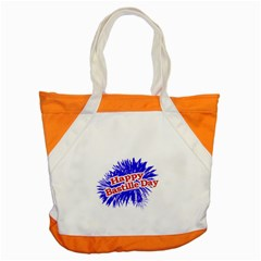 Happy Bastille Day Graphic Logo Accent Tote Bag