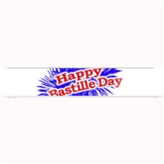 Happy Bastille Day Graphic Logo Small Bar Mats