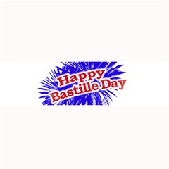 Happy Bastille Day Graphic Logo Large Bar Mats