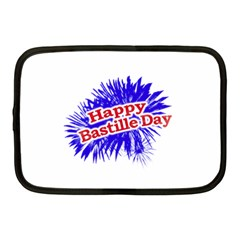 Happy Bastille Day Graphic Logo Netbook Case (Medium)