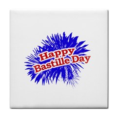 Happy Bastille Day Graphic Logo Face Towel