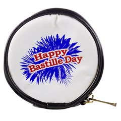 Happy Bastille Day Graphic Logo Mini Makeup Bags