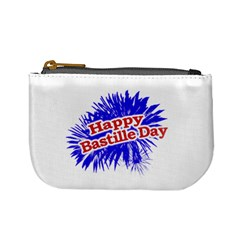 Happy Bastille Day Graphic Logo Mini Coin Purses