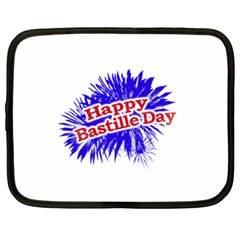 Happy Bastille Day Graphic Logo Netbook Case (XL)