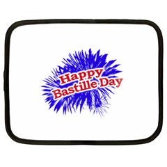 Happy Bastille Day Graphic Logo Netbook Case (XXL)