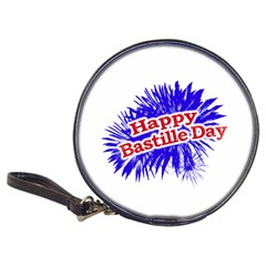 Happy Bastille Day Graphic Logo Classic 20-CD Wallets