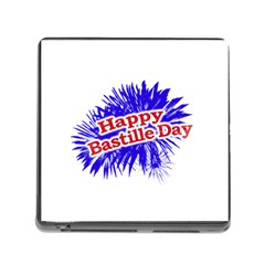 Happy Bastille Day Graphic Logo Memory Card Reader (Square)
