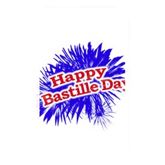 Happy Bastille Day Graphic Logo Memory Card Reader