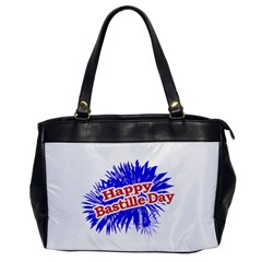 Happy Bastille Day Graphic Logo Office Handbags