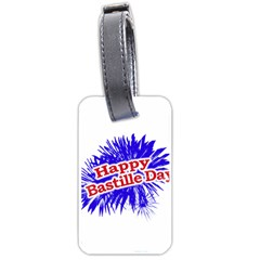 Happy Bastille Day Graphic Logo Luggage Tags (Two Sides)