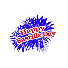 Happy Bastille Day Graphic Logo Magic Photo Cubes