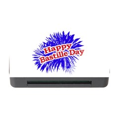 Happy Bastille Day Graphic Logo Memory Card Reader with CF