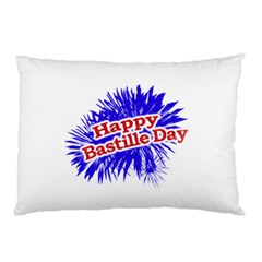 Happy Bastille Day Graphic Logo Pillow Case (Two Sides)