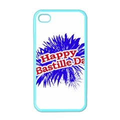 Happy Bastille Day Graphic Logo Apple iPhone 4 Case (Color)