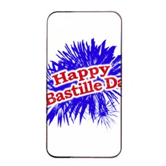 Happy Bastille Day Graphic Logo Apple iPhone 4/4s Seamless Case (Black)