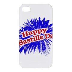 Happy Bastille Day Graphic Logo Apple iPhone 4/4S Hardshell Case