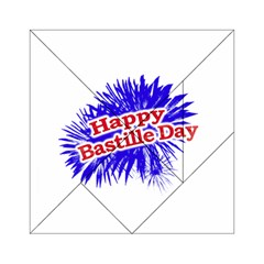 Happy Bastille Day Graphic Logo Acrylic Tangram Puzzle (6  x 6 )
