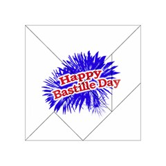 Happy Bastille Day Graphic Logo Acrylic Tangram Puzzle (4  x 4 )