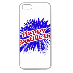 Happy Bastille Day Graphic Logo Apple Seamless iPhone 5 Case (Clear)