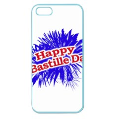 Happy Bastille Day Graphic Logo Apple Seamless iPhone 5 Case (Color)