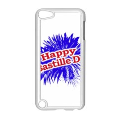 Happy Bastille Day Graphic Logo Apple iPod Touch 5 Case (White)