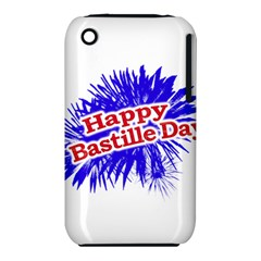 Happy Bastille Day Graphic Logo iPhone 3S/3GS