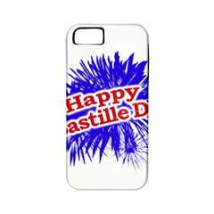 Happy Bastille Day Graphic Logo Apple iPhone 5 Classic Hardshell Case (PC+Silicone)