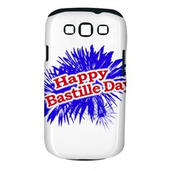Happy Bastille Day Graphic Logo Samsung Galaxy S III Classic Hardshell Case (PC+Silicone)