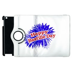Happy Bastille Day Graphic Logo Apple iPad 3/4 Flip 360 Case