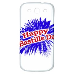 Happy Bastille Day Graphic Logo Samsung Galaxy S3 S III Classic Hardshell Back Case