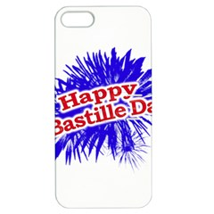 Happy Bastille Day Graphic Logo Apple iPhone 5 Hardshell Case with Stand