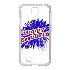 Happy Bastille Day Graphic Logo Samsung GALAXY S4 I9500/ I9505 Case (White)