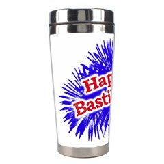 Happy Bastille Day Graphic Logo Stainless Steel Travel Tumblers