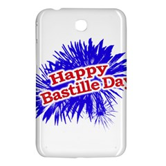 Happy Bastille Day Graphic Logo Samsung Galaxy Tab 3 (7 ) P3200 Hardshell Case